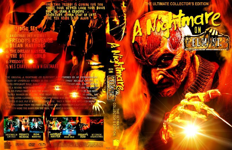 Кошмар на улице Вязов Антология A Nightmare On Elm Street Anthology (1984-2010) BDRip